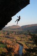 Rock Climbing Photo: mathieu fontaine falling in the fall