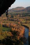Rock Climbing Photo: mathieu fontaine cutting free