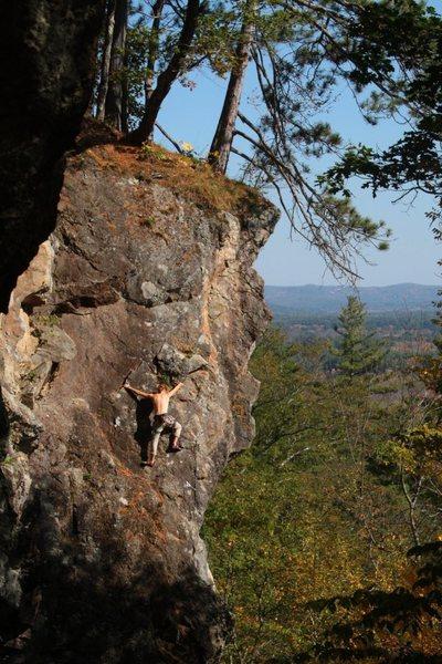 Rock Climbing Photo: a stranger on Danger