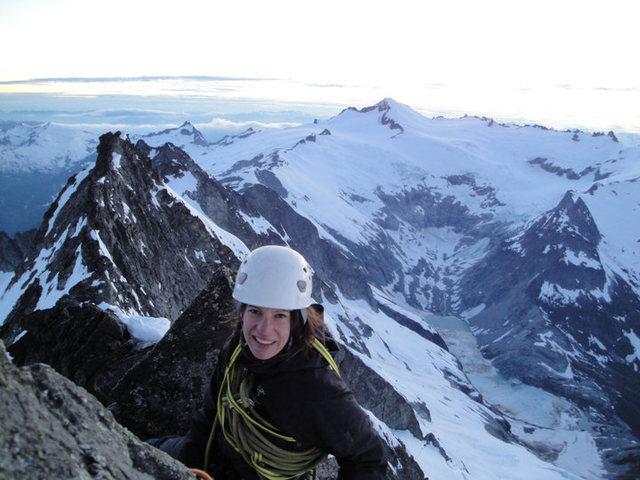 Rock Climbing Photo: West Ridge of Forbidden Peak