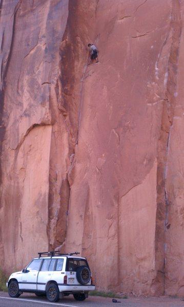 Rock Climbing Photo: Trad cherry popper