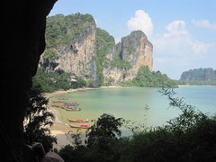 Rock Climbing Photo: Ton Sai Beach.