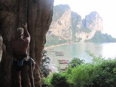 Rock Climbing Photo: Ton Sai from Fire Wall.