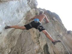 Rock Climbing Photo: White Hut Hernias, Fire Wall.