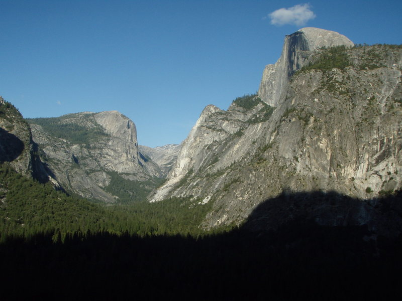 View from Glacier Point Apron