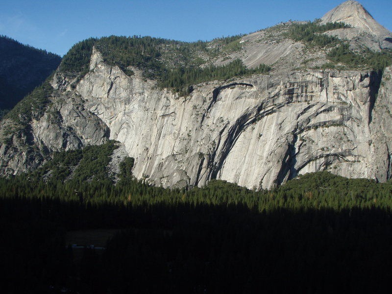Royal Arches from Glacier Point Apron