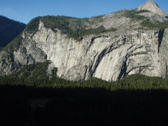 Rock Climbing Photo: Royal Arches from Glacier Point Apron