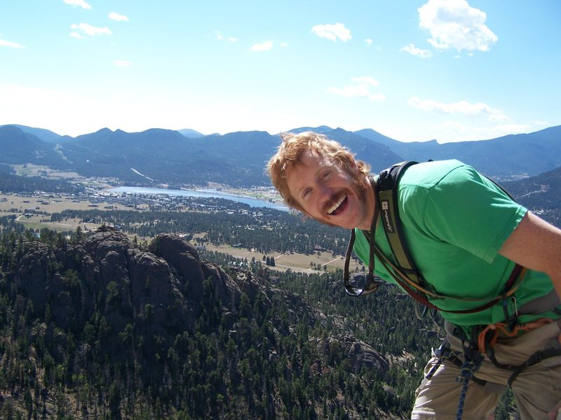 Rock Climbing Photo: A great day in Estes Park, CO.
