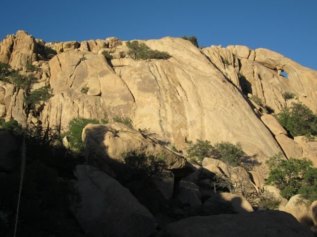 Paleface Slab, Cochise Stronghold, AZ.