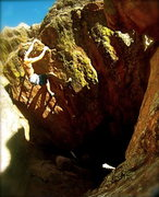 Rock Climbing Photo: Cave Hang, V0.