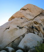 Rock Climbing Photo: Skirt the TS Special roof by going beneath it to t...