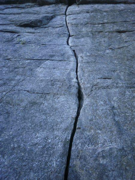 Rock Climbing Photo: classic beginner crack