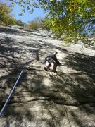 Rock Climbing Photo: tr on the original start