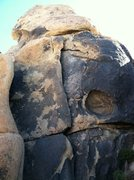 Rock Climbing Photo: Sliver of Light 5.10b