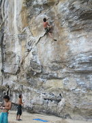 Rock Climbing Photo: Manuel putting some latin energy into Lion King's ...