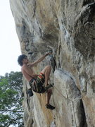 Rock Climbing Photo: Manuel flake close-up