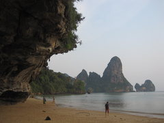 Rock Climbing Photo: Peaceful Ton Sai evening after a hard day of climb...