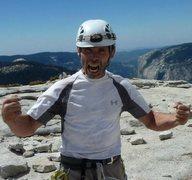 Rock Climbing Photo: STOKED!
