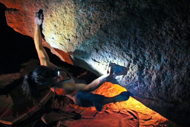 Rock Climbing Photo: Delicious arete.
