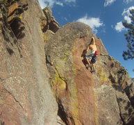 Rock Climbing Photo: Red Streak.