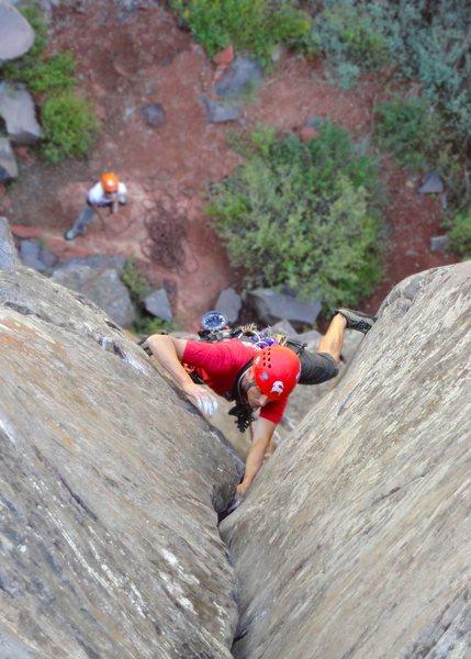 Rock Climbing Photo: mayflower