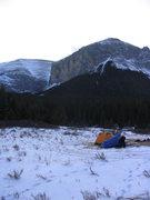 Rock Climbing Photo: Climb Hydrophobia, camp out, then climb Sorcerer. ...