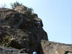 Rock Climbing Photo: Shroud of Turin 5.10a