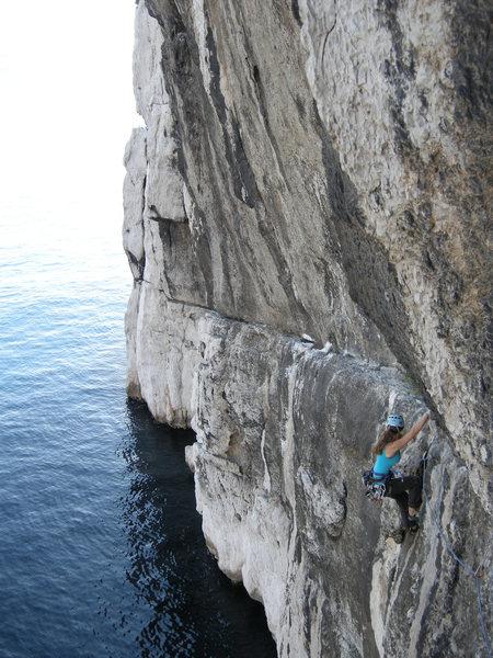 Rock Climbing Photo: Pitch 4/5