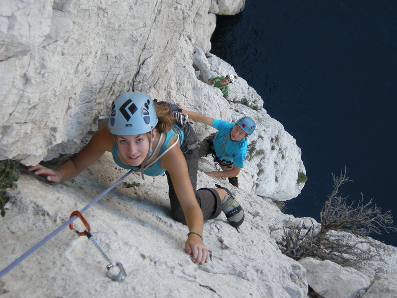 Rock Climbing Photo: nice exit on pitch 7