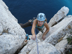 Rock Climbing Photo: Cécile