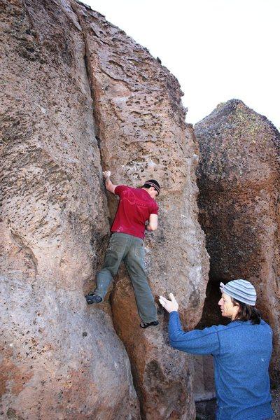 Rock Climbing Photo: Tim on Mytoesis