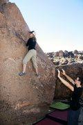 Rock Climbing Photo: Ramey on the pleasant slab.