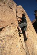 Rock Climbing Photo: Tim enjoying A Flake As Marvelous As You, Veruca