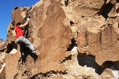 Rock Climbing Photo: Justin committed to finish OK: I'll Share With Cha...