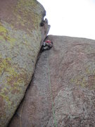 Rock Climbing Photo: Phil Ashton discovers his first Vedauwoo sandbag -...