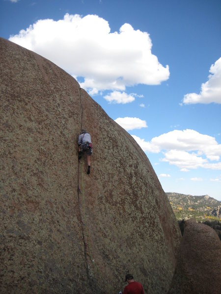 Rock Climbing Photo: Rob Davies discovers that Kim seems harder than ad...