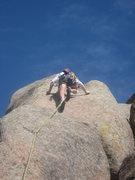 Rock Climbing Photo: Thin edges at the crux (photo by Phil Ashton).