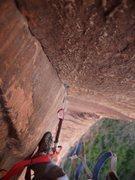 Rock Climbing Photo: Beginning my sixth pitch on Prodigal Sun, October ...