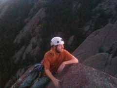 Rock Climbing Photo: Top of the Third Flatiron