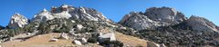 Rock Climbing Photo: The South Face of Owens Ridge as seen from the app...
