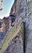 Rock Climbing Photo: Arctic circle jerk