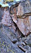 Rock Climbing Photo: Sierra Route