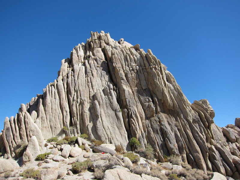 Rock Climbing Photo: Count Chossula's fluted south face