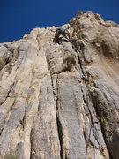 Rock Climbing Photo: Joe on the first ascent of Rice Krispy Teeth