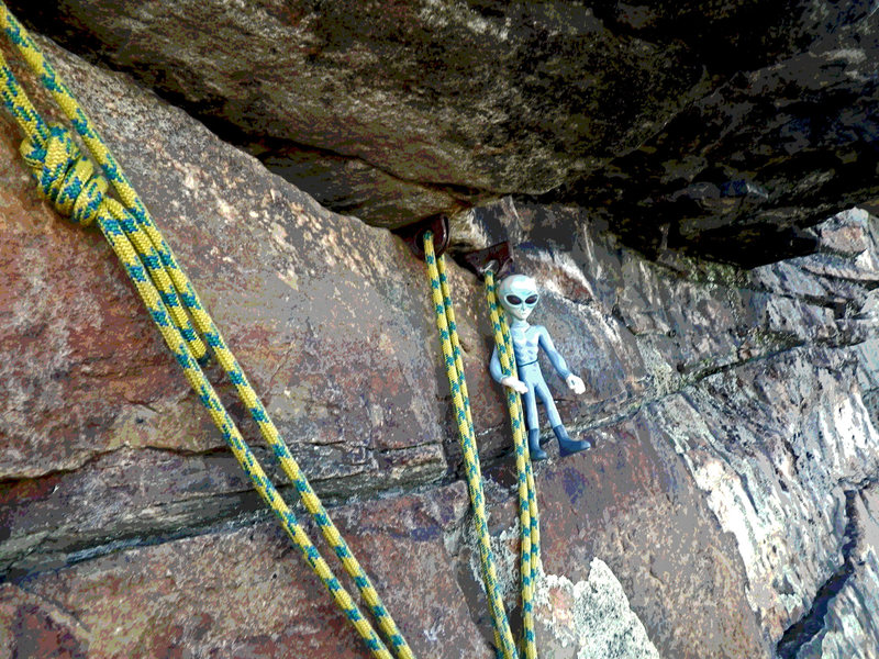 Rock Climbing Photo: KARMIC RELIEF chilling