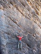 Rock Climbing Photo: Jeff Skoloda gets in a lap on Roger's Ride.  Sam's...