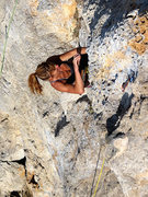 Rock Climbing Photo: Feona from down under going up over. Taking us all...