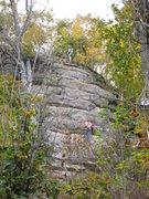 Rock Climbing Photo: Chino On Frozen Digits.
