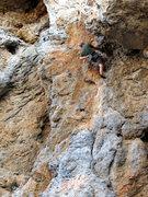 Rock Climbing Photo: Matt knows roofs. Don't you Matt. Send, Matt, send...
