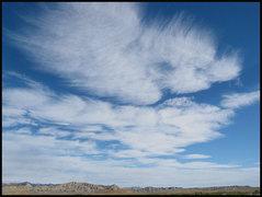 Rock Climbing Photo: Cool sky! Photo by Blitzo.